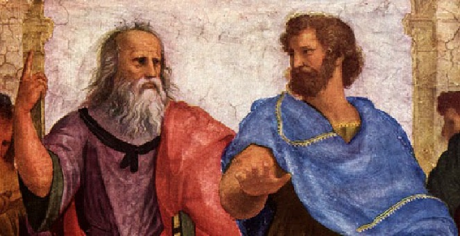 aristotles revelation of the platonic view Greek philosophy and the trinity (john 15:20) especially of god, the word of god, meaning divine revelation and (the view that there is only one kind.