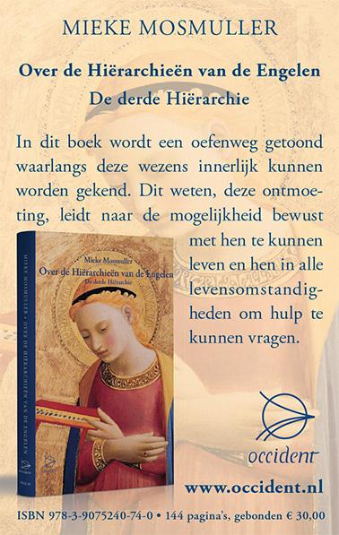 Over de Hiërarchieën van de Engelen - De derde Hiërarchie - Mieke Mosmuller - Occident