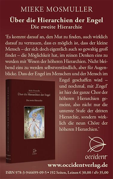 Über die Hierarchien der Engel - Die zweite Hierarchie - Mieke Mosmuller - Occident