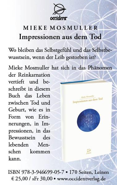 Impressionen aus dem Tod - Mieke Mosmuller - Occident
