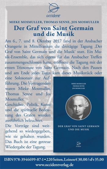 Der Graf von Saint Germain und die Musik - Mieke Mosmuller, Thomas Senne, Jos Mosmuller - Occident
